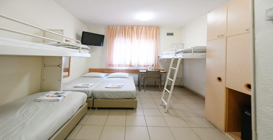 חדר משפחתי - אנ&quotא אגרון -ירושלים